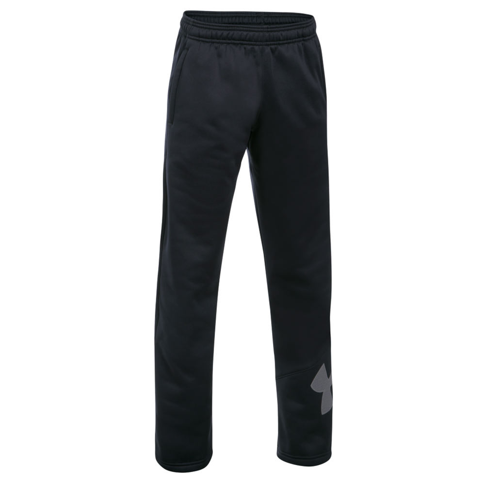 Under Armour Boys' Armour Fleece Big Logo Pant Black Pants XL-Regular 823965BKPXL