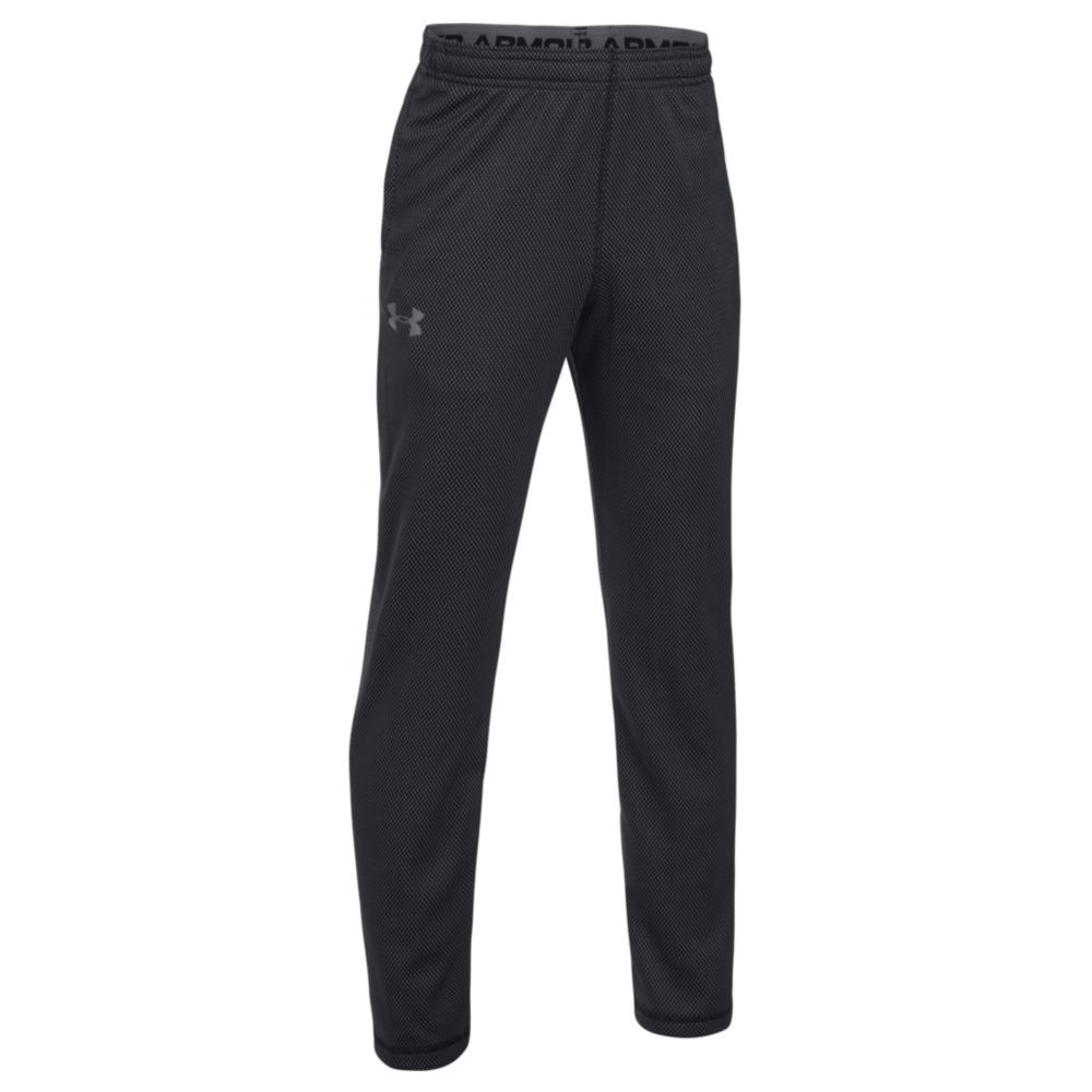 Under Armour Boys' Tech Textured Pants Black Pants M-Regular 823968BKPM