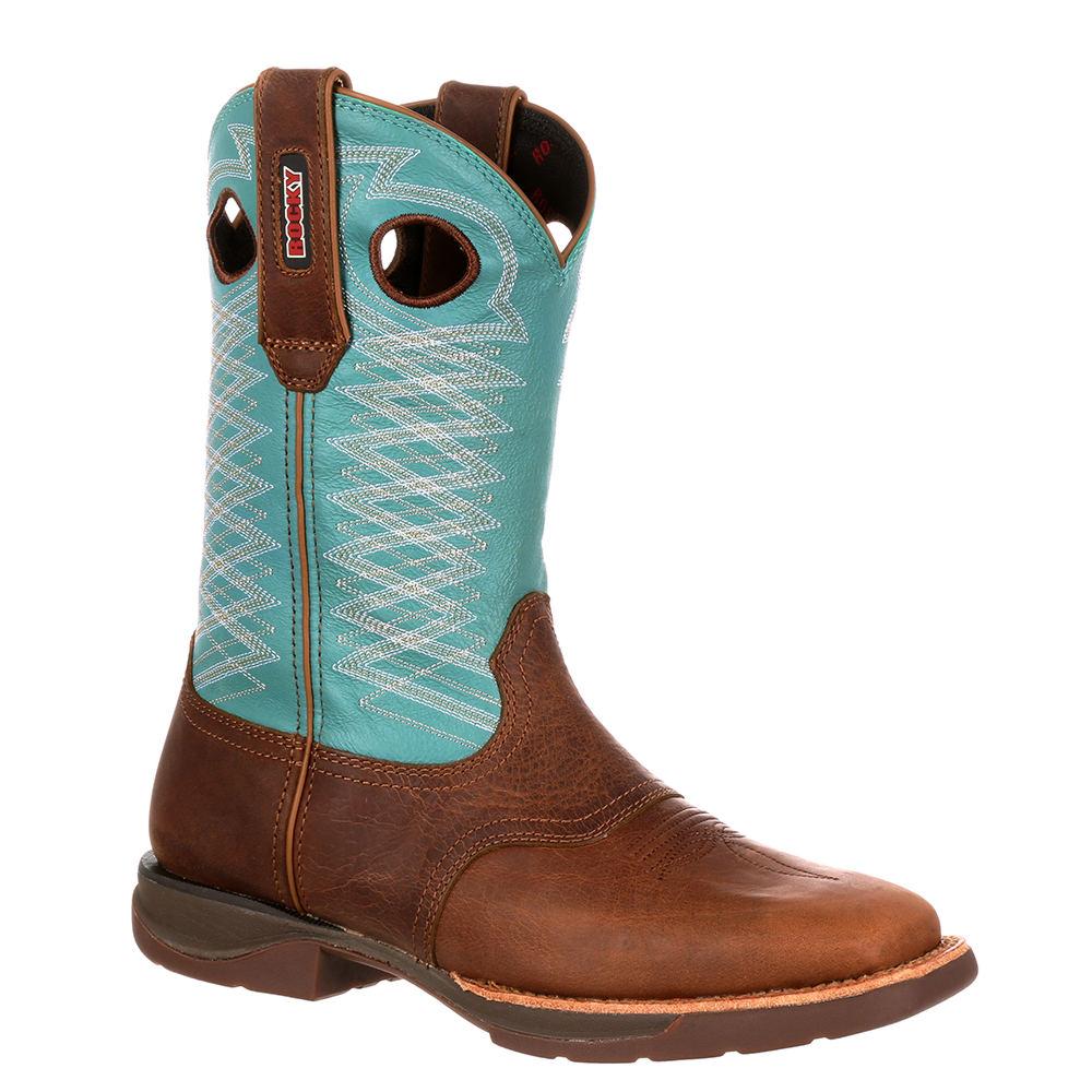 Rocky Western Rocky LT 0168 Women's Brown Boot 8 M