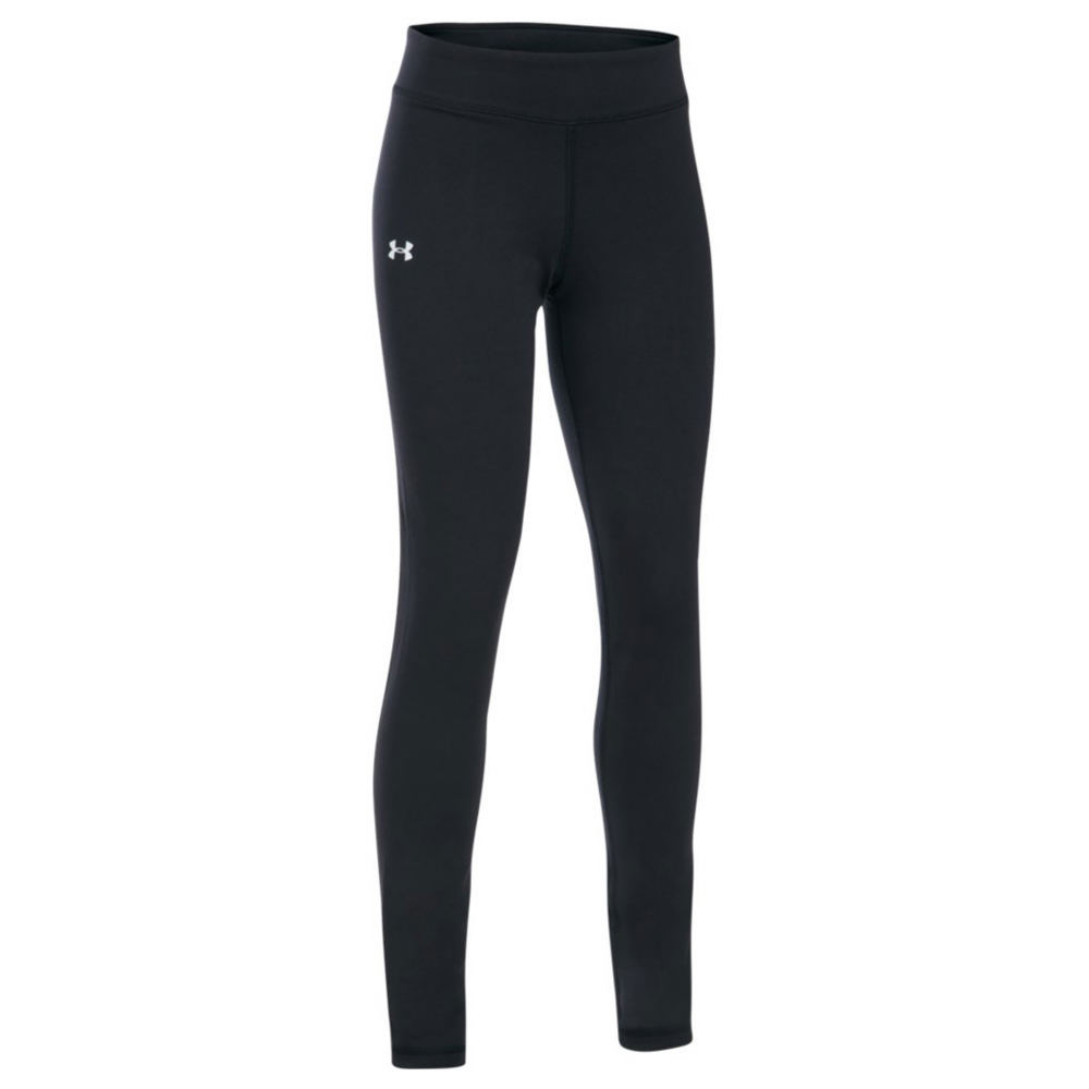 Under Armour Girls' Favorite Knit Legging Black Pants L-Regular 823967BLKL