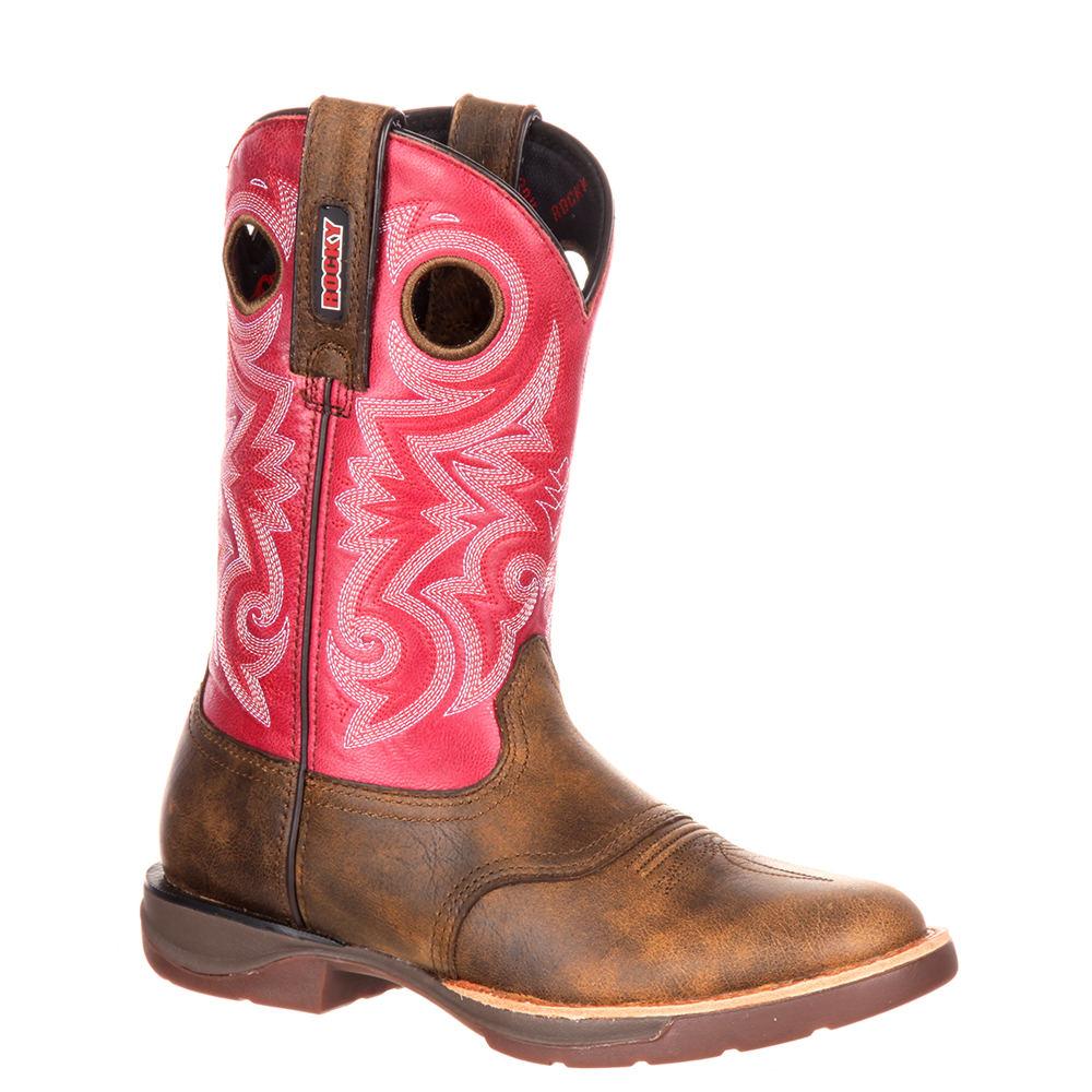 Rocky Western Rocky LT 0194 Women's Brown Boot 7 M