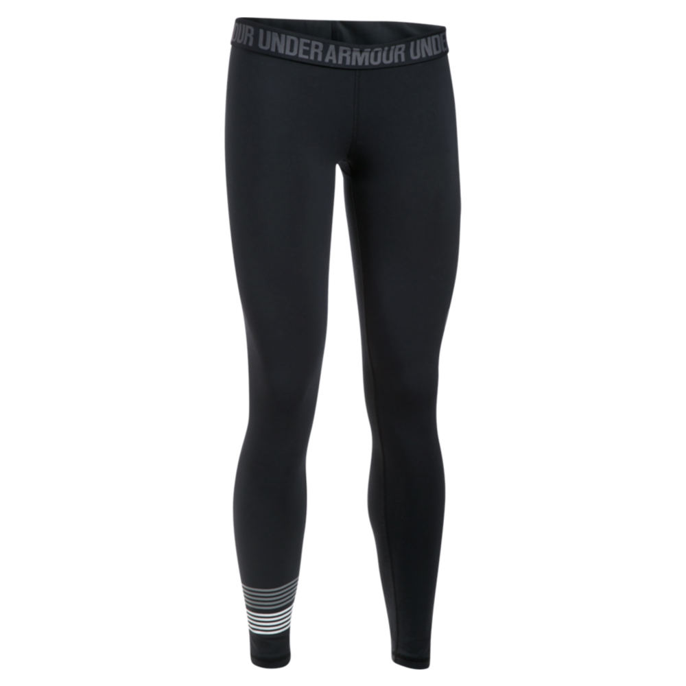Under Armour Women's Favorite Legging-Graphic Black Pants L-Regular 712344BLKL