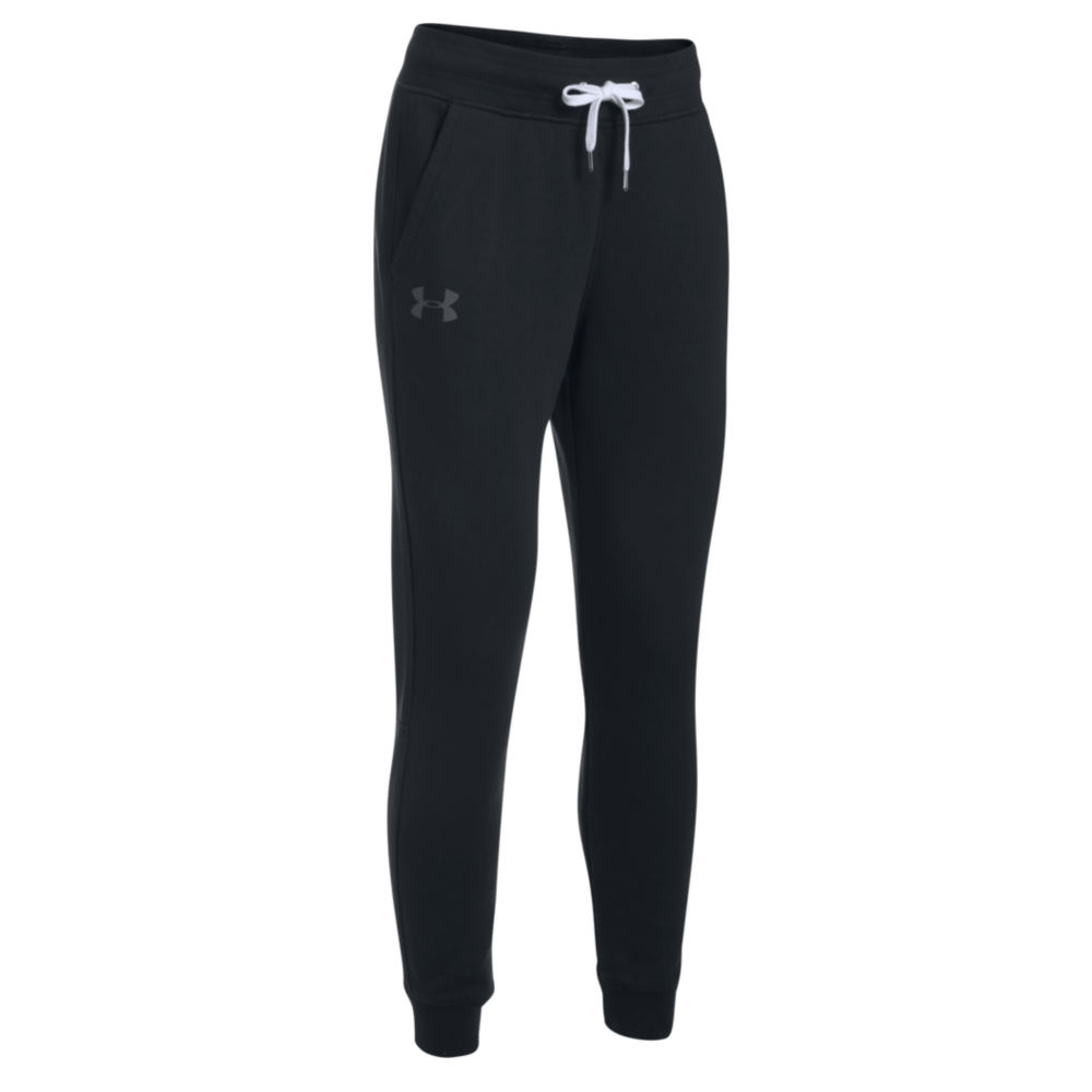 Under Armour Women's Favorite Fleece Pant Black Pants XL-Regular 712342BLKXL