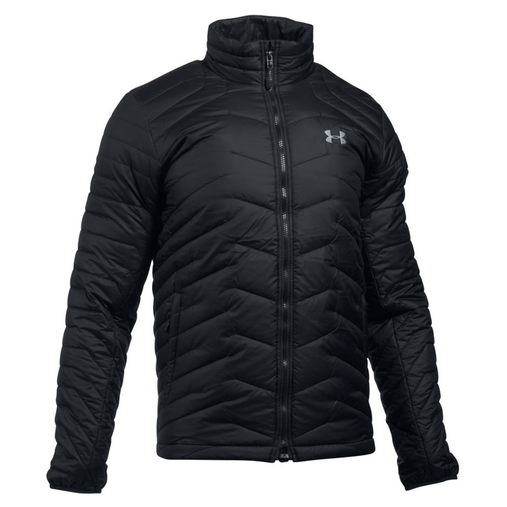 Under Armour Men's Coldgear Reactor Jacket Black Jackets M 712378BLKM