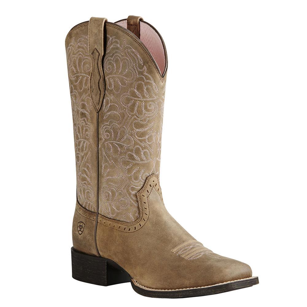 Ariat Round Up Remuda Women's Brown Boot 11 B