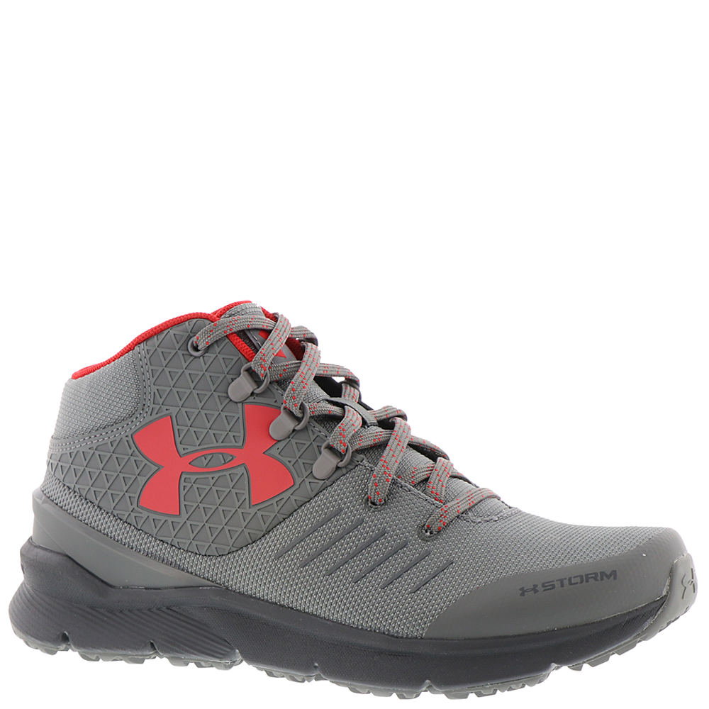 Under Armour BGS Overdrive X Boys' Youth Grey Running 4 Youth M 824019GRA040M