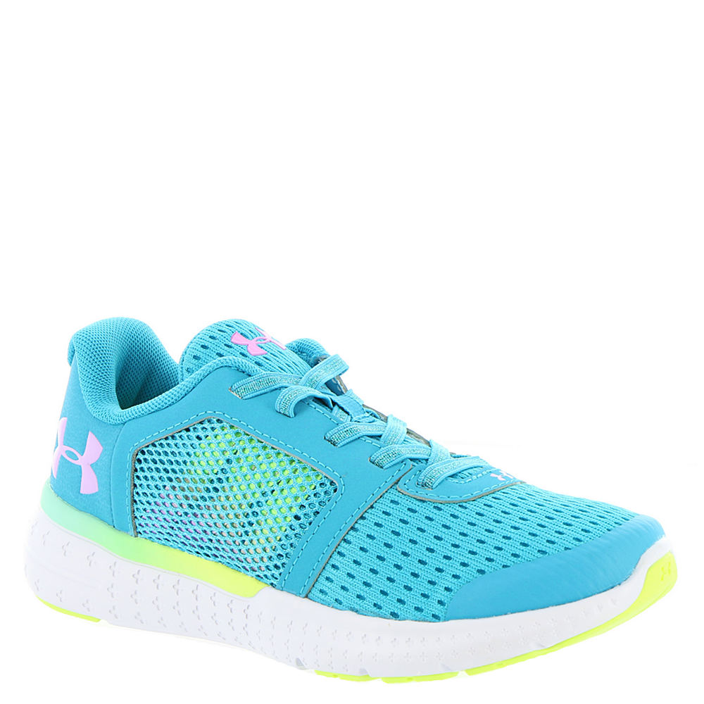 Under Armour GPS Micro G Fuel Prism AL Girls' Toddler-Youth Blue Running 12 Toddler M 824051BLU120M