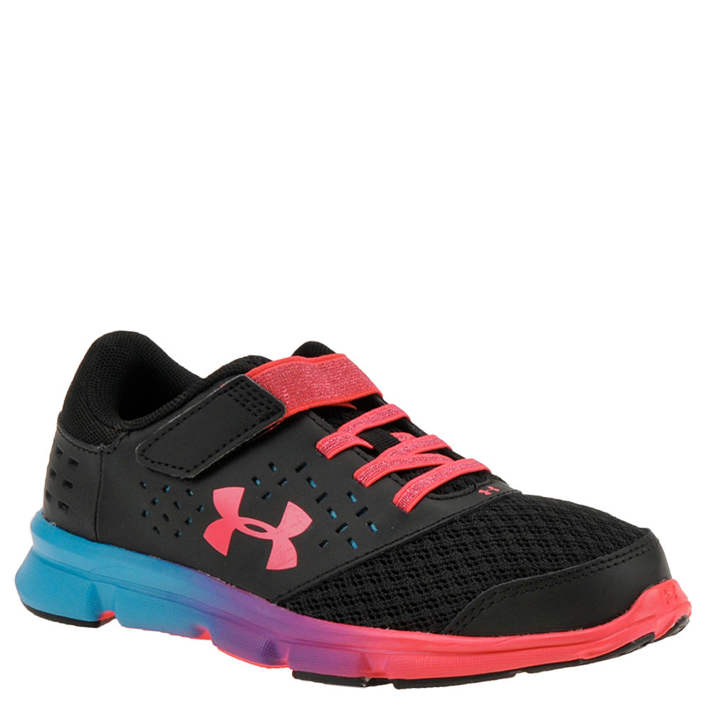 Under Armour GPS Rave NR AC Prism Girls' Toddler-Youth Black Running 10.5 Toddler M 824054BLK105M