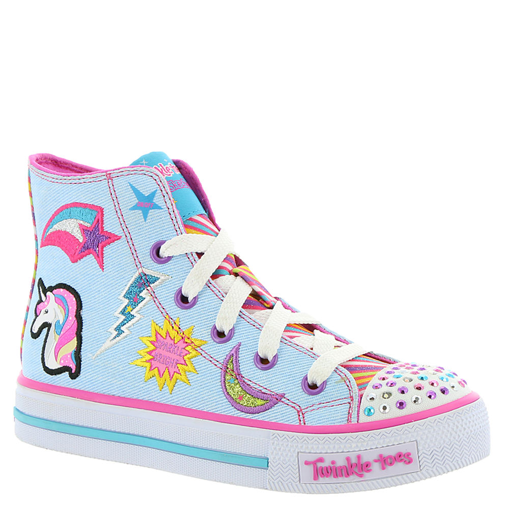 Skechers Twinkle Toes: Shuffles-10776L Girls' Toddler-You...