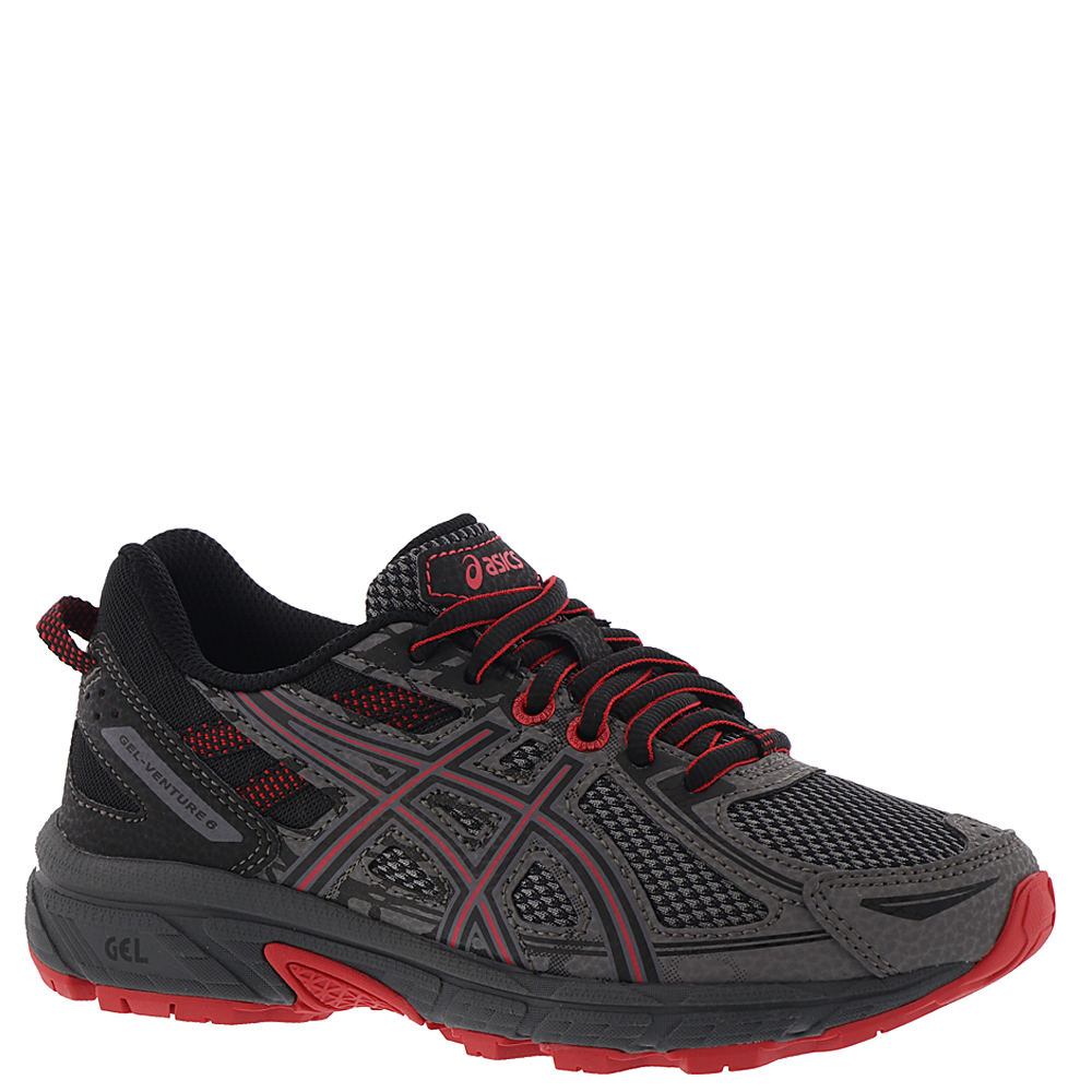 Asics Gel-Venture 6 GS Boys' Youth Grey Running 1.5 Youth M