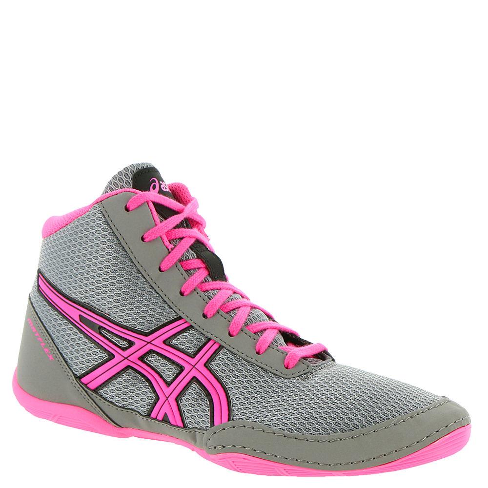 Asics Matflex 5 GS Girls' Toddler-Youth Grey Running 2.5 ...