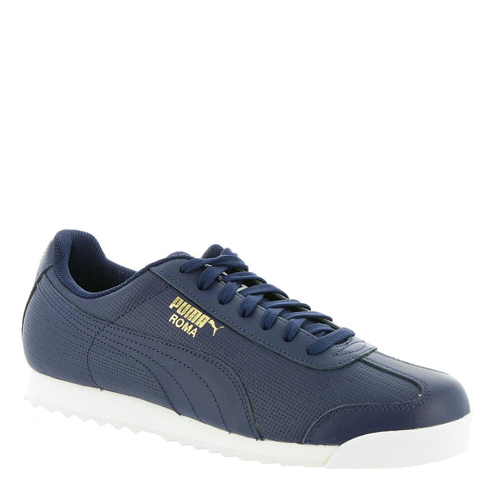 PUMA Roma Classic Perf Men's Navy Sneaker 8 M 649885PCT080M