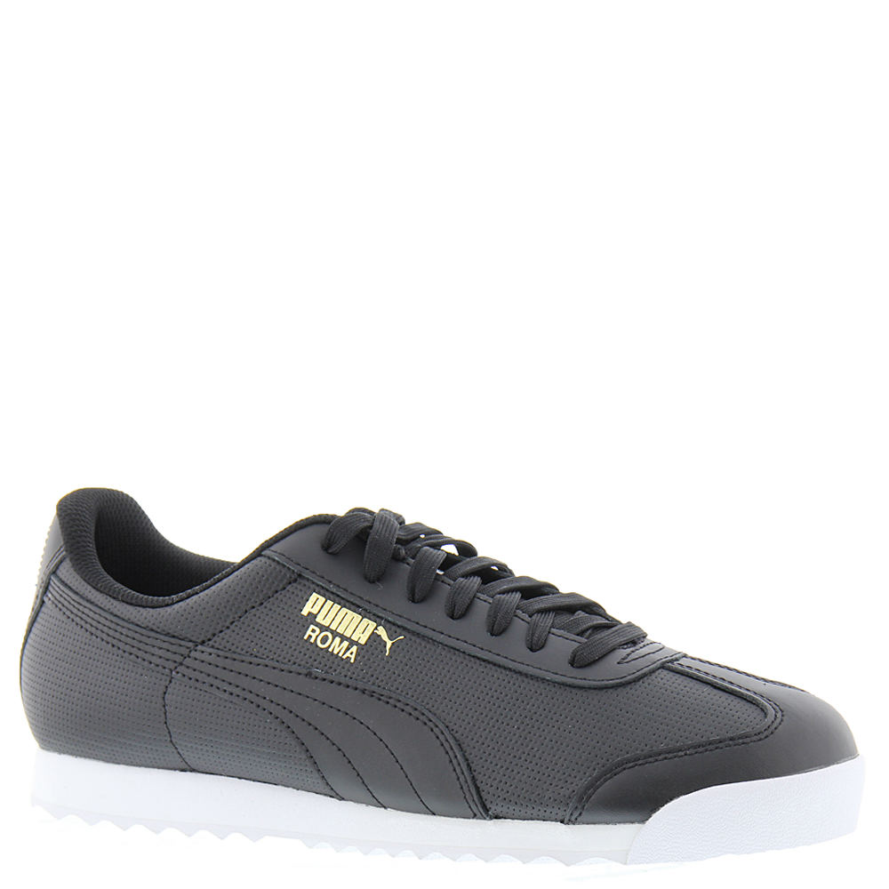 PUMA Roma Classic Perf Men's Black Sneaker 9 M 649884BLK090M