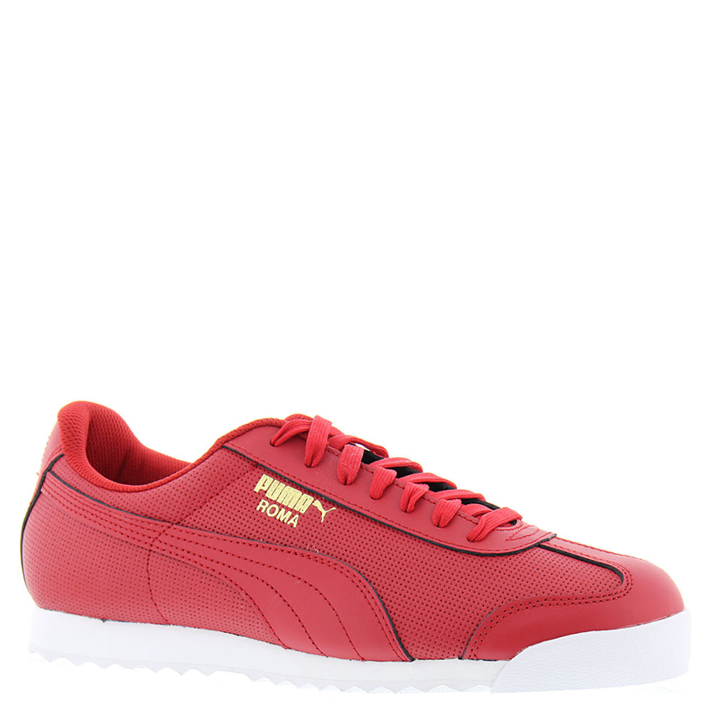 PUMA Roma Classic Perf Men's Red Sneaker 9.5 M 649886RED095M