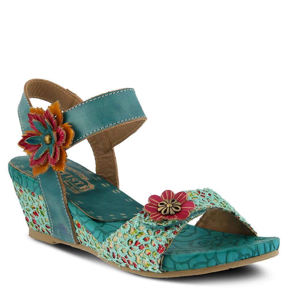 Spring Step Laisis Women's Blue Sandal Euro 36      US 5....