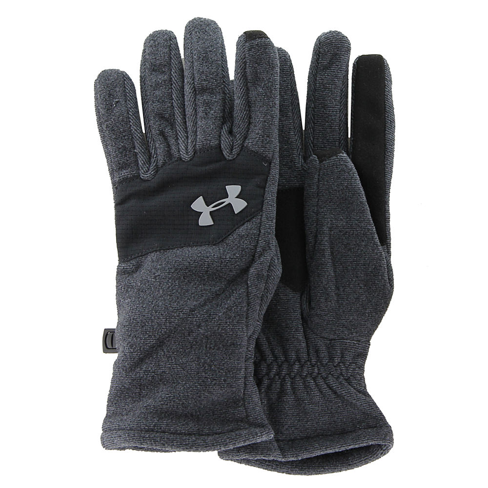 Under Armour Boys' Survivor Fleece Glove 2 Black Misc Accessories S 824315BLKS