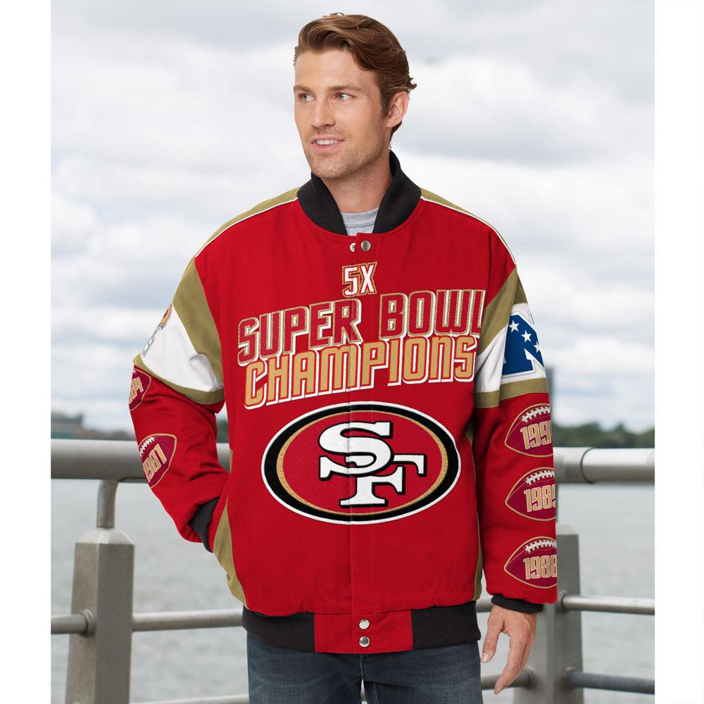 Men's NFL Legacy Cotton Twill Jacket Multi Jackets M