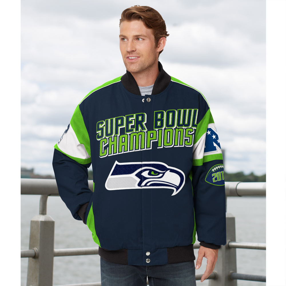 Men's NFL Legacy Cotton Twill Jacket Multi Jackets XL