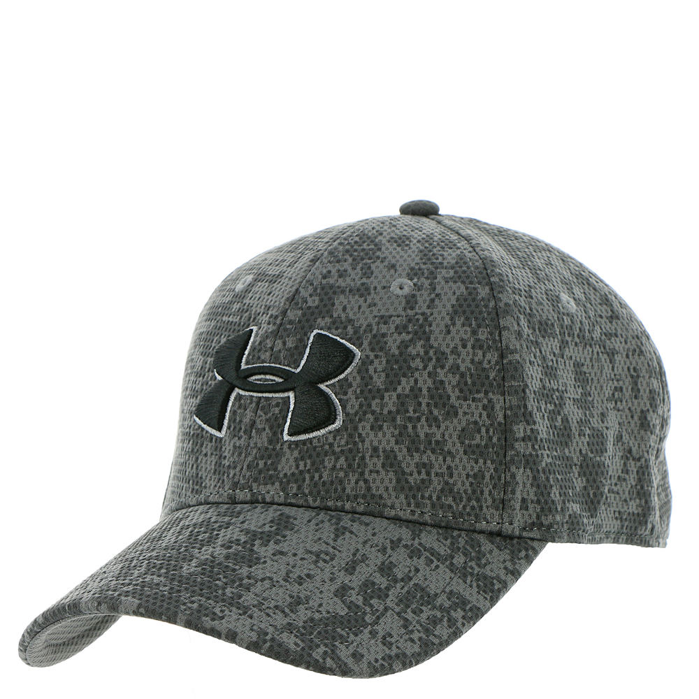 Under Armour Men's Printed Blitzing Cap Grey Hats M/L 671946GRAM/L