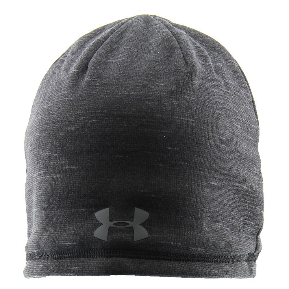 Under Armour Men's Elements Reactor Beanie Black Hats One Size 671941BLK
