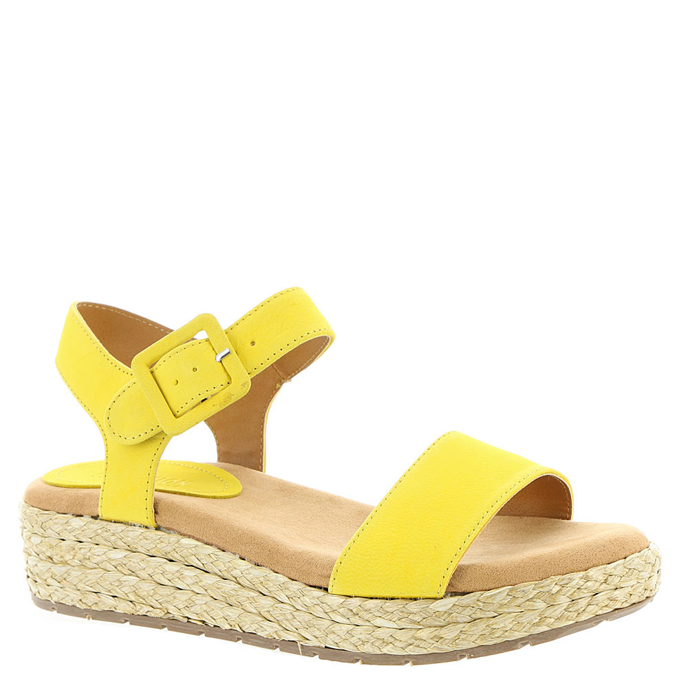 Kenneth Cole Reaction Calm Water Women's Yellow Sandal 7 M