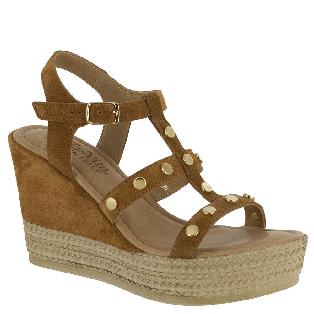 Bella Vita Rin-Italy Women's Brown Sandal 10 W2