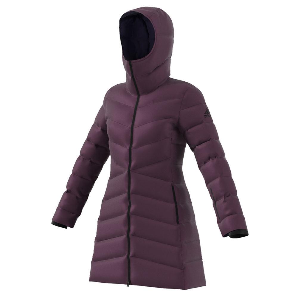 Adidas Womesn's W CW Nuvic Jacket Purple Coats M