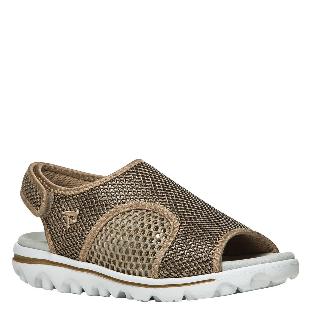 Propét TravelActiv SS Women's Gold Sandal 9 W