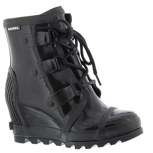Sorel Joan Rain Wedge Gloss Boot (Women's)