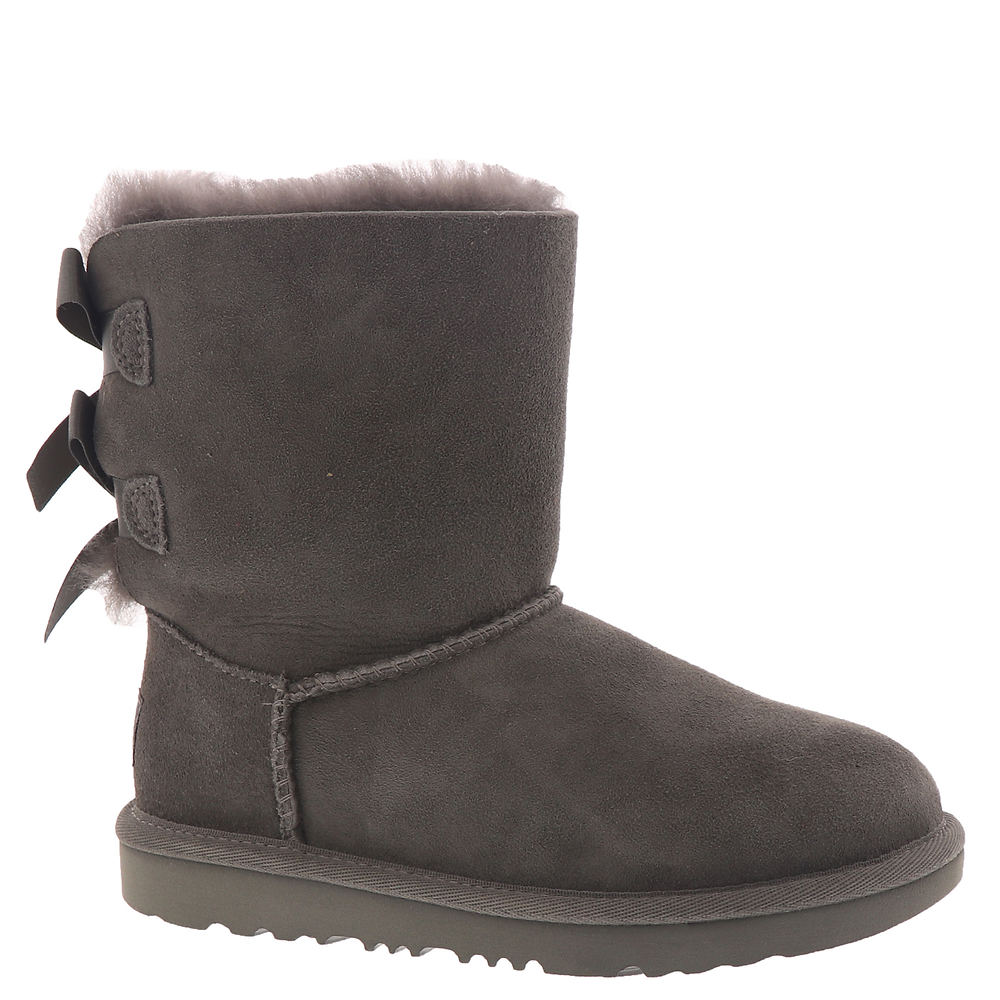 UGG Bailey Bow II Girls' Toddler-Youth Grey Boot 13 Toddl...