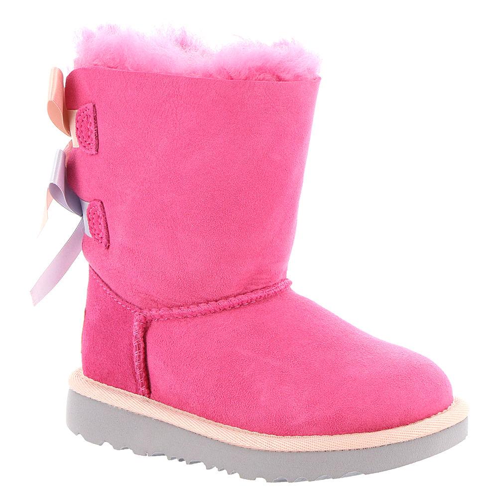 UGG Bailey Bow II Toddler Girls' Toddler Pink Boot 12 Tod...