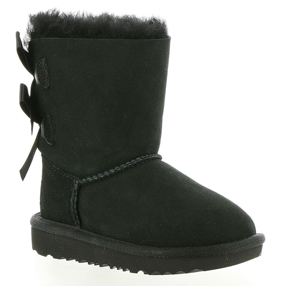 UGG Bailey Bow II Toddler Girls' Toddler Black Boot 12 To...