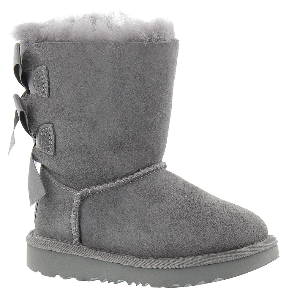 UGG Bailey Bow II Toddler Girls' Toddler Grey Boot 12 Tod...