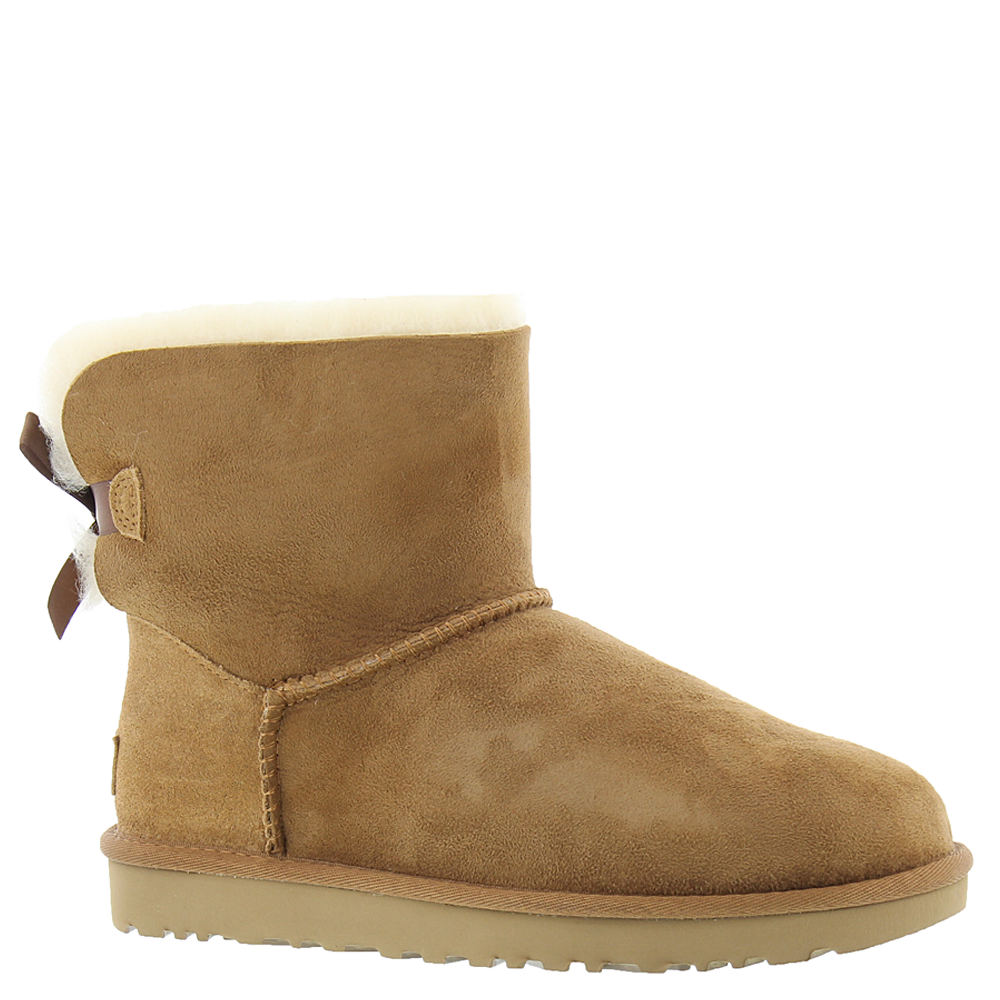 UGG Mini Bailey Bow II Women's Brown Boot 6 M