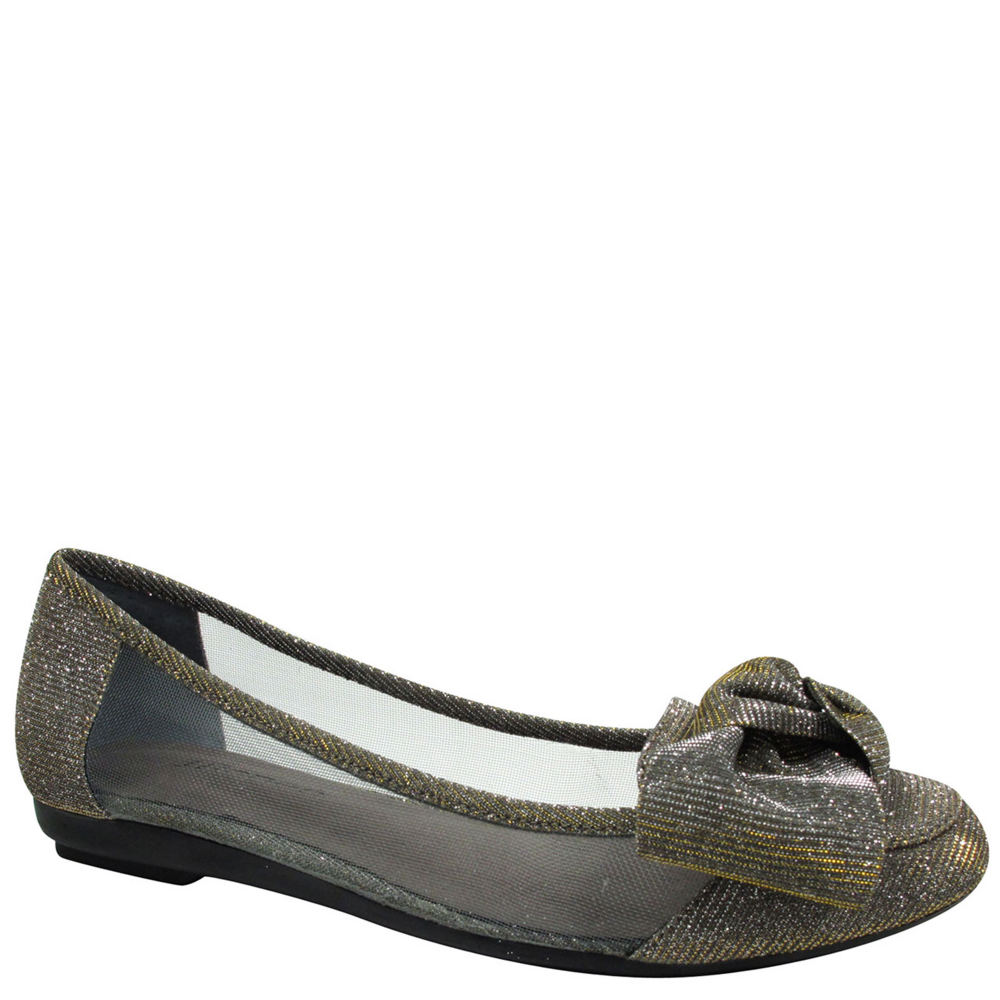J. Renee Bacton Women's Pewter Slip On 6.5 M