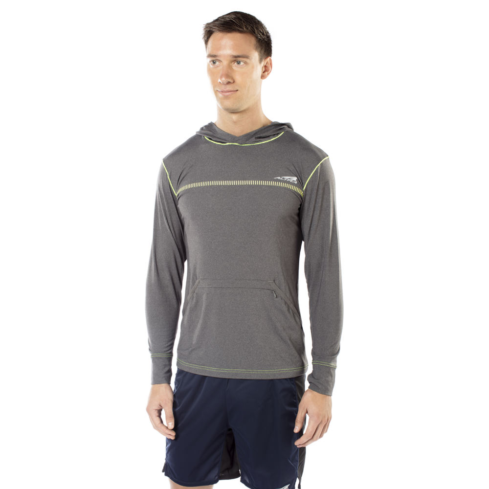 Altra Men's Performance Hoody Grey Shirts L 712852GRYL