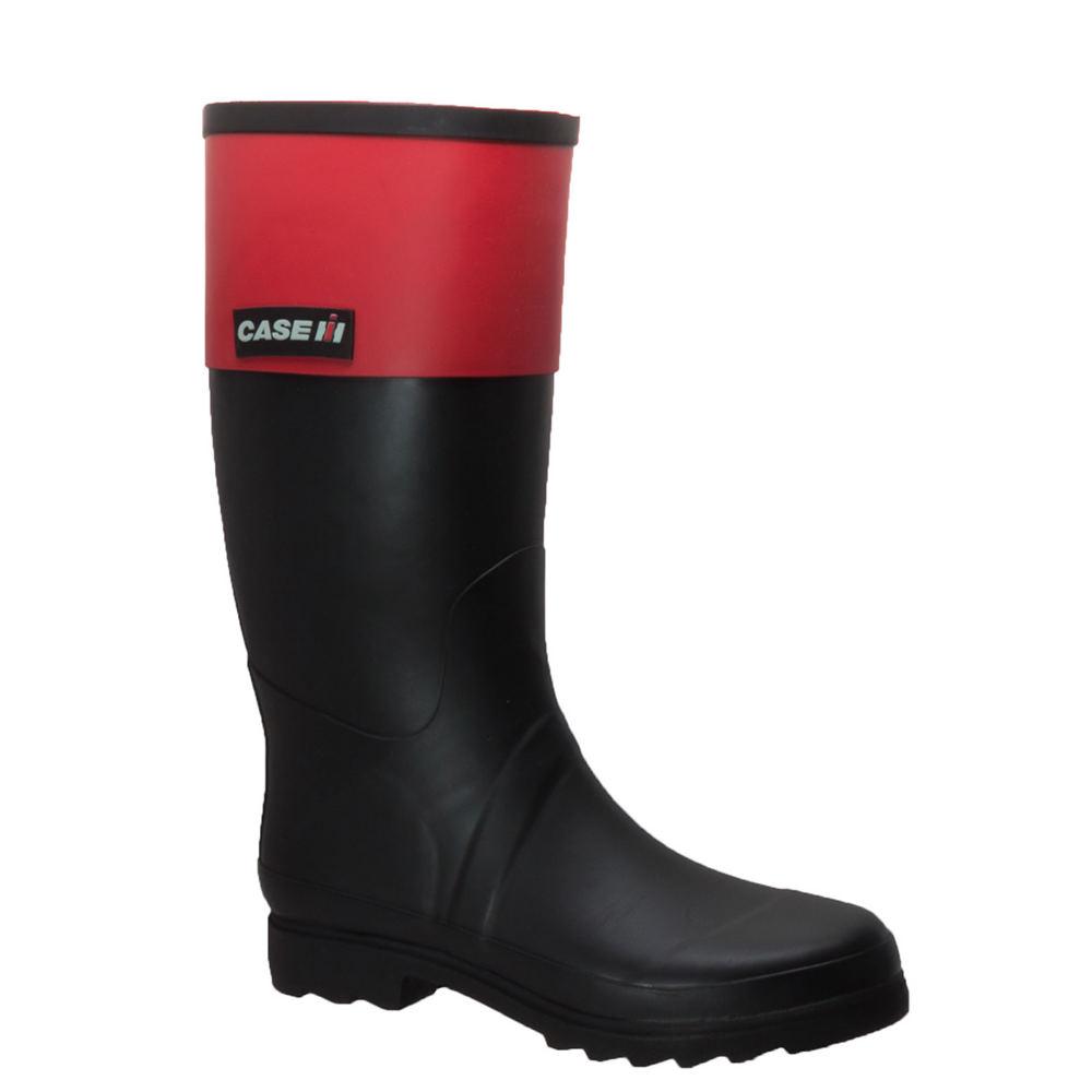 Case IH Rubber Rider Boot Women's Black Boot 8 M