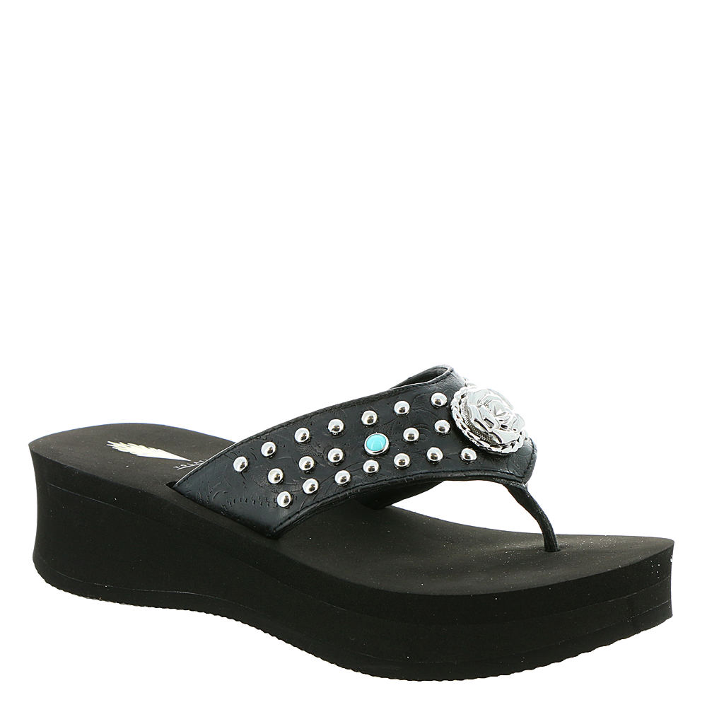 Volatile Coralee Women's Black Sandal 10 M