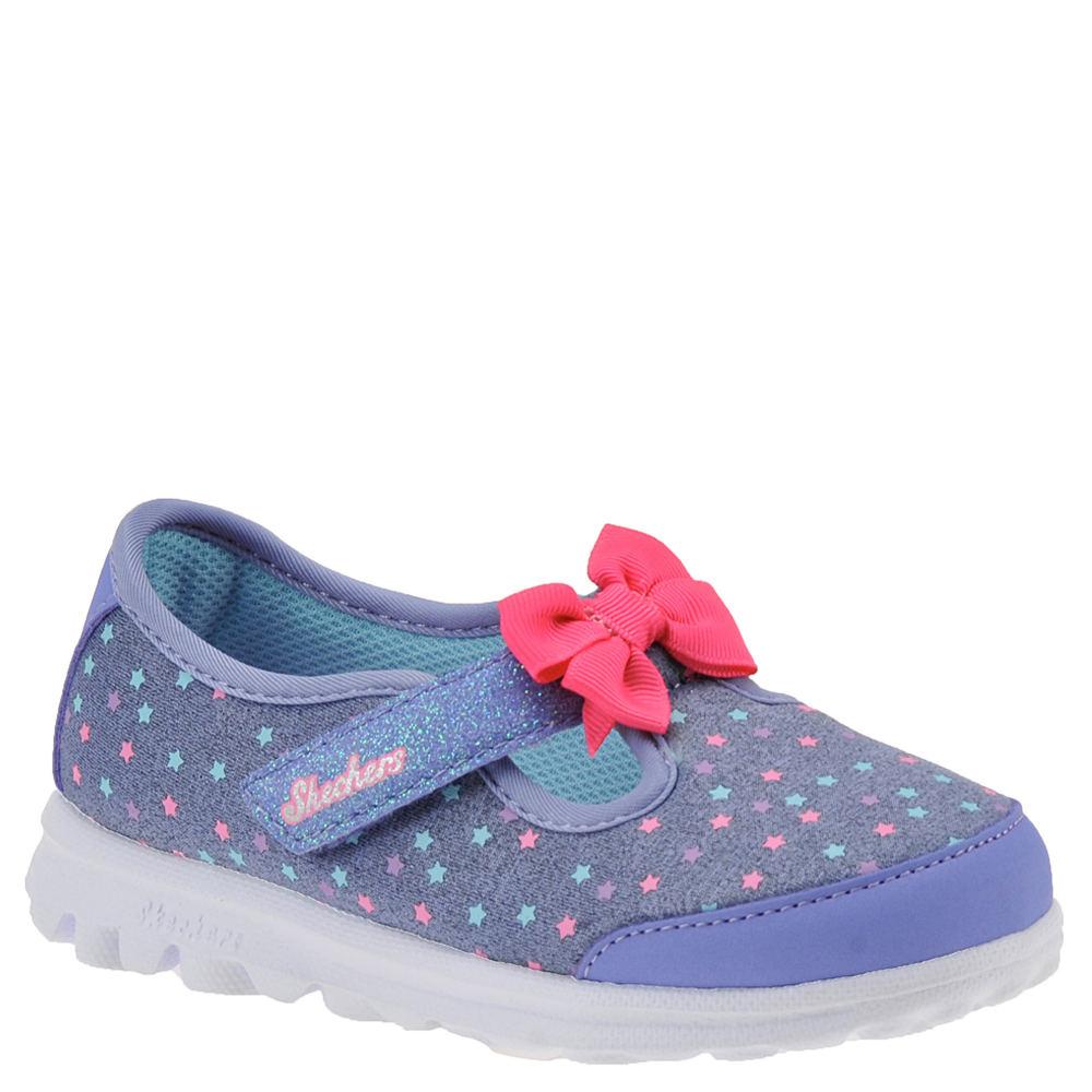 Skechers Go Walk-Starry Style Girls' Infant-Toddler Purpl...