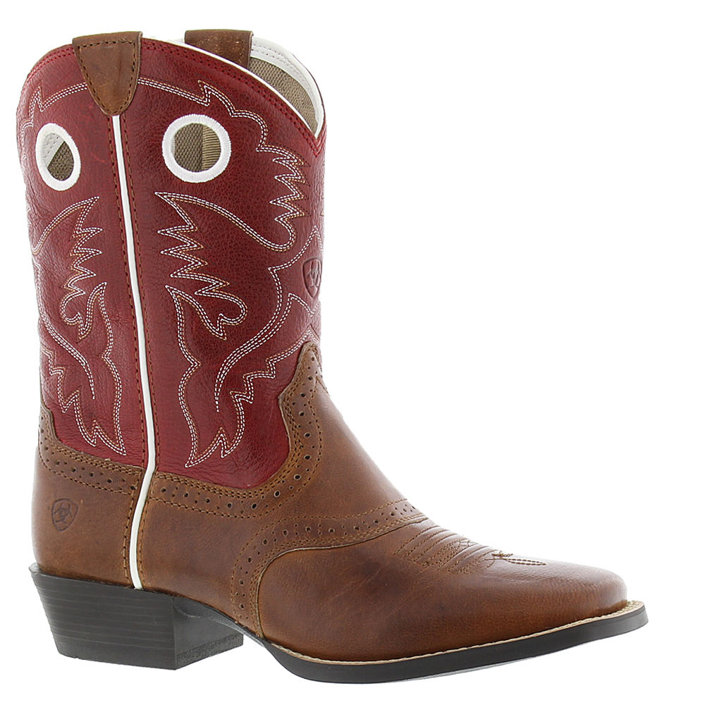 Ariat Roughstock Girls' Youth Red Boot 3 Youth M