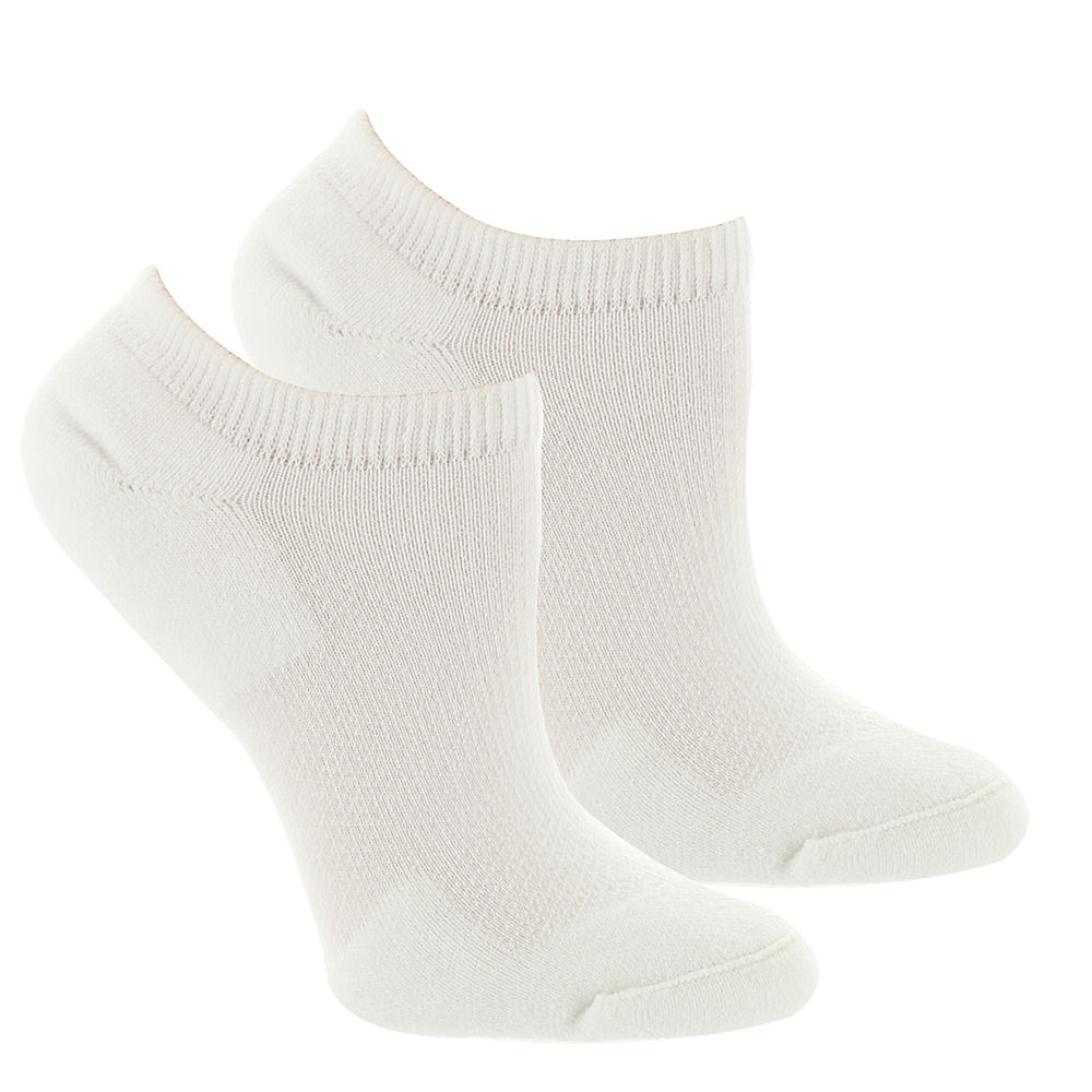 Fox Mills Women's Diabetic Ankle Socks White Socks M 560023WHTMED