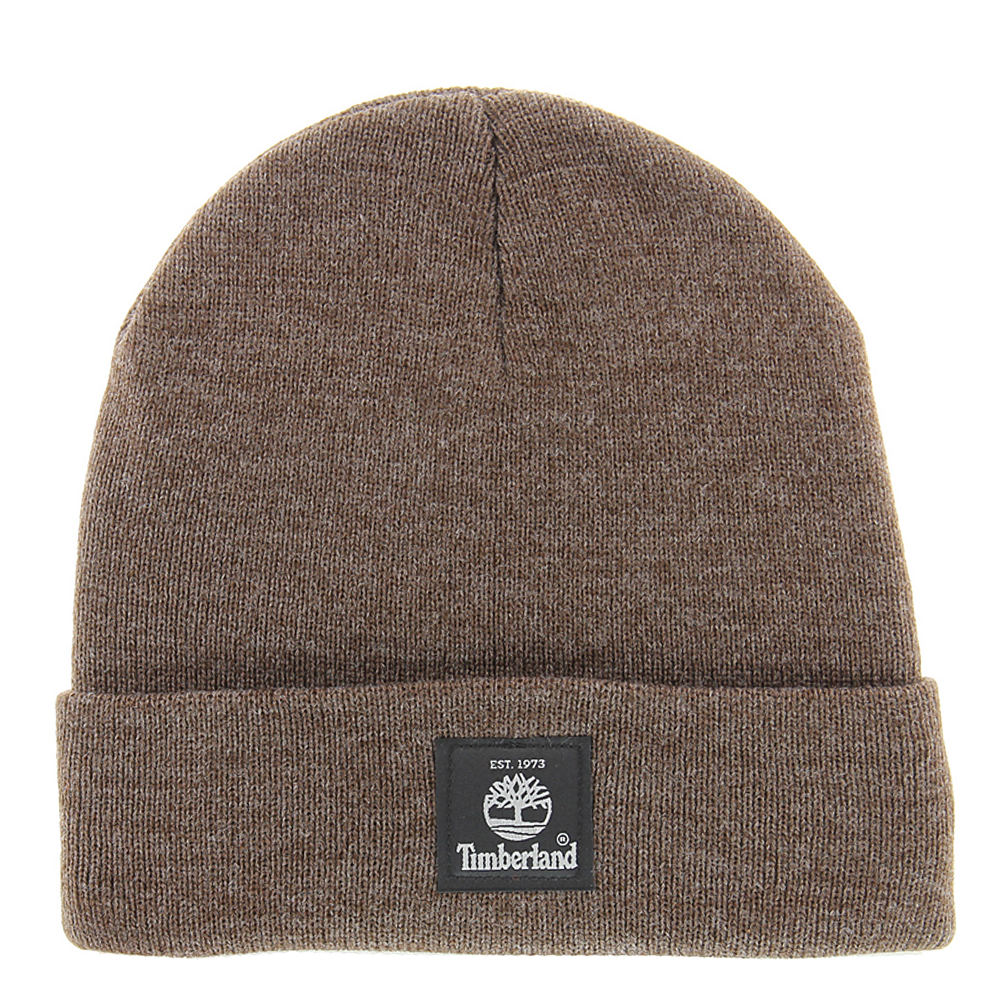 Timberland Men's TH340324 Heather Watchcap Brown Hats One Size 650779BRN