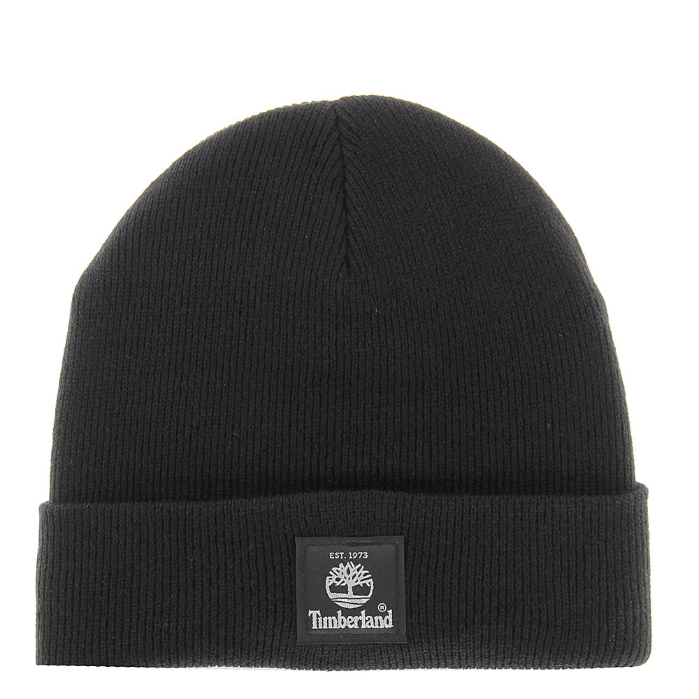 Timberland Men's TH340324 Heather Watchcap Black Hats One Size 650778BLK