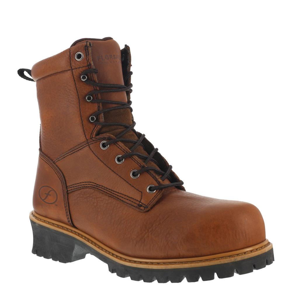 "Florsheim Work Lumberjack 9"" Men's Brown Boot 13 E3"