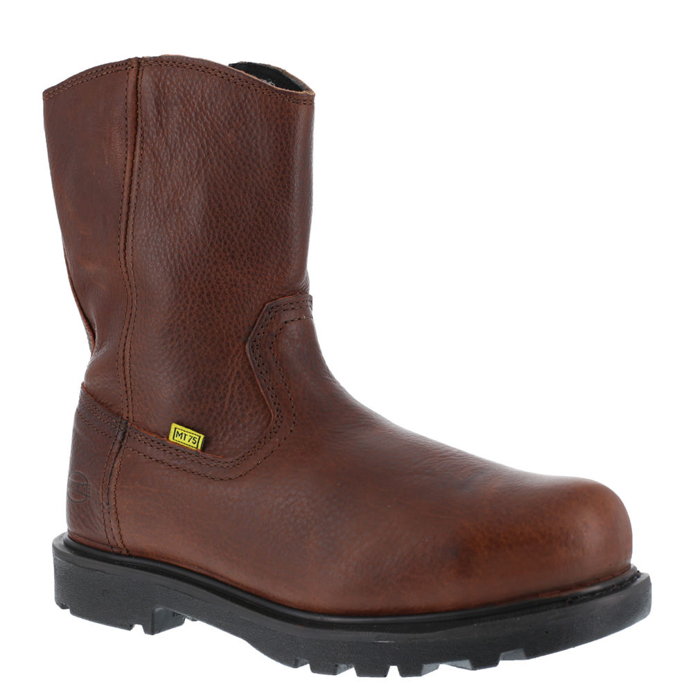 "IRON AGE Hauler 10"" Wellington Men's Brown Boot 7 W"