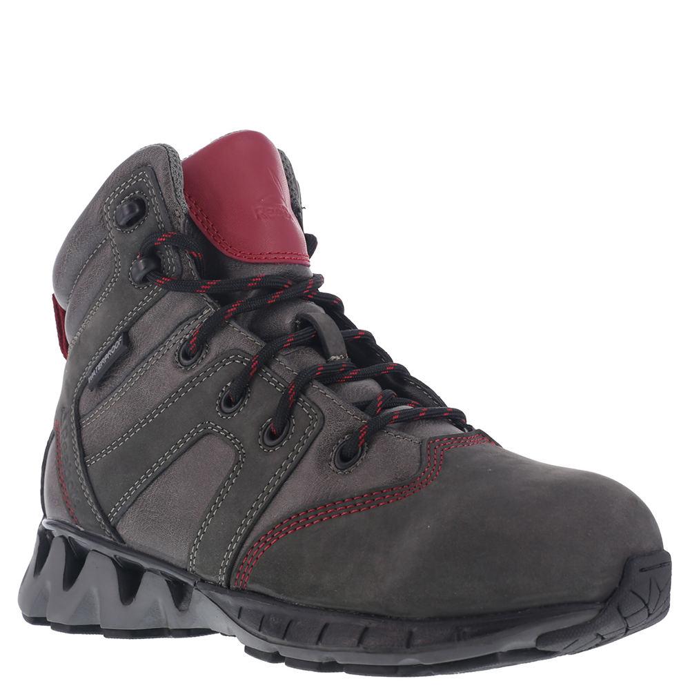 Reebok Work ZigKick Work Waterproof Hiker Women's Grey Oxford 12 M 546158GRY120M