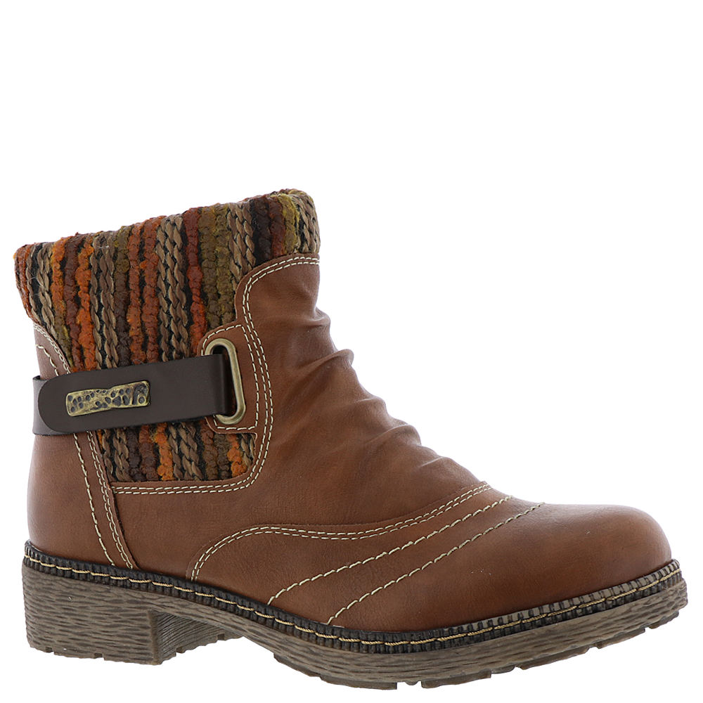 Spring Step Citrine Women's Brown Boot Euro 37      US 6....