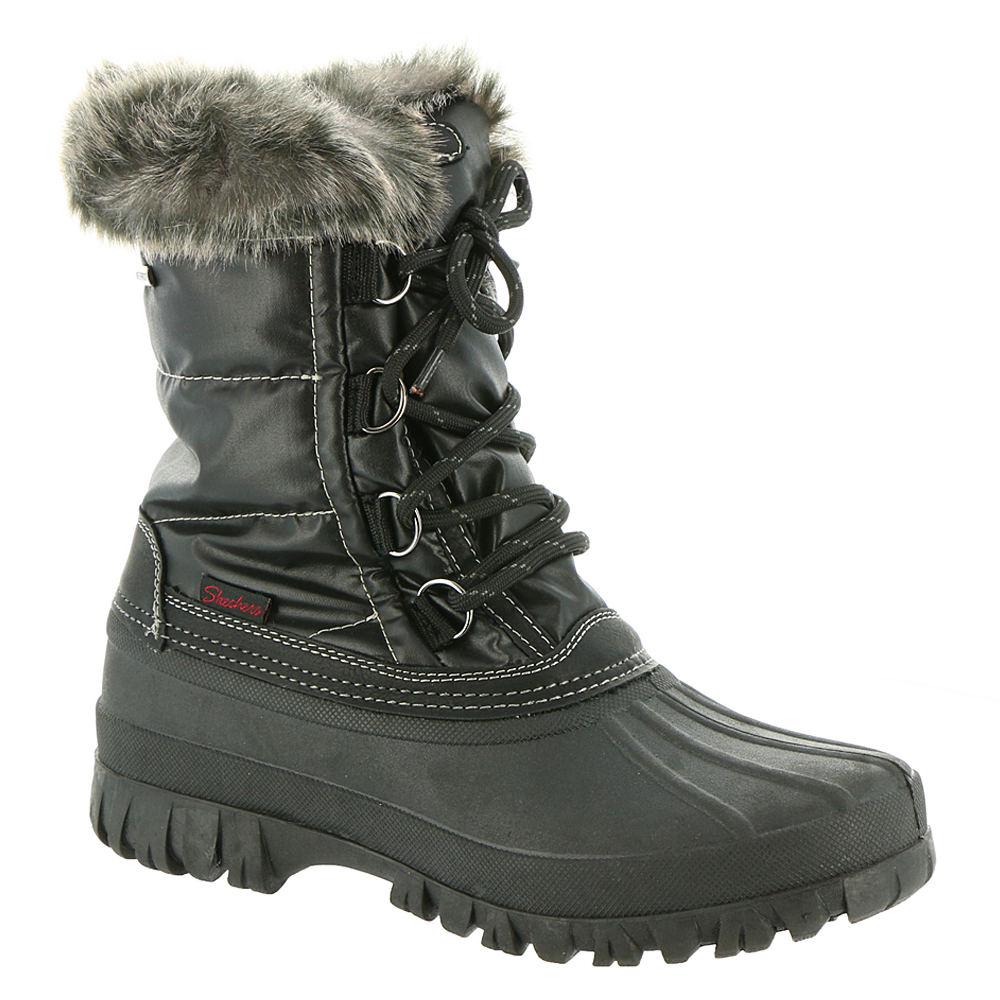 Skechers USA Windom-49823 Women's Black Boot 9 M