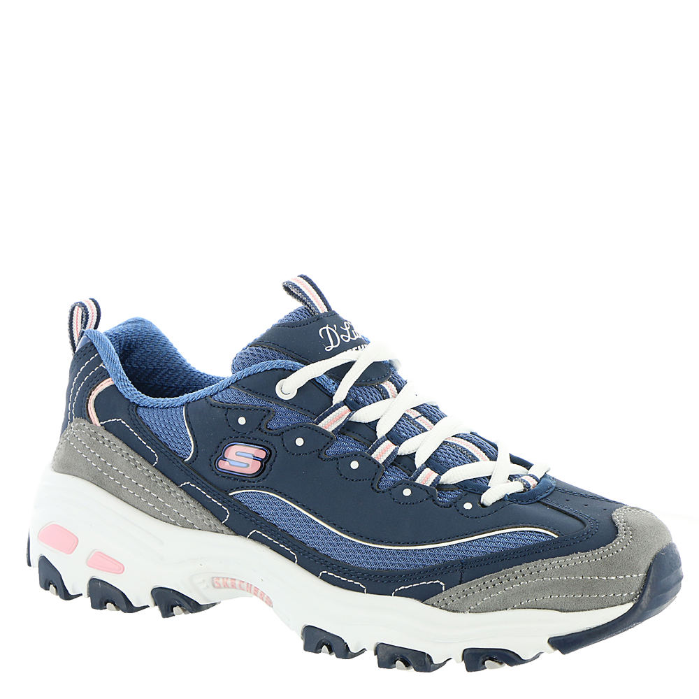 Skechers Sport D'Lites-New Journey Women's Navy Sneaker 9...