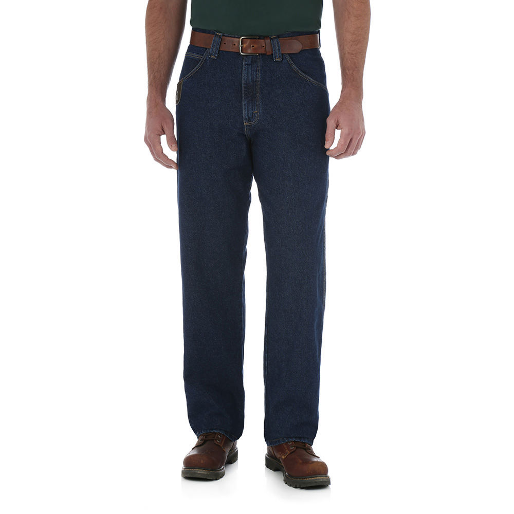 Wrangler Men's Contractor Jean Blue Pants 34-34